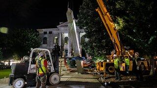 Confederate Monument Removed In Georgia