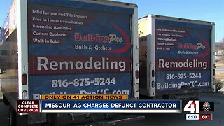Missouri AG files criminal charges against defunct contractor