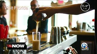 Local tourism officials showcasing craft beer, restaurants