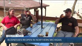 Businesses reopen in Northern Michigan