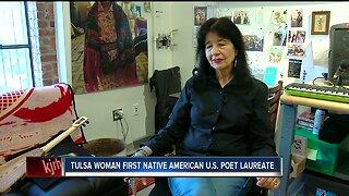 Tulsa Woman First Native Ameican U.S. Poet Laureate