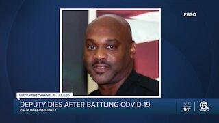Palm Beach County sheriff's deputy dies from coronavirus