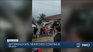 Search continues for earthquake survivors