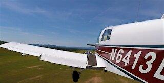 Grumman American AA-1A take off!