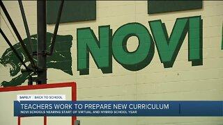 Teachers work to prepare new curriculum