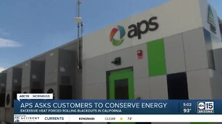 APS asks customers to conserve energy
