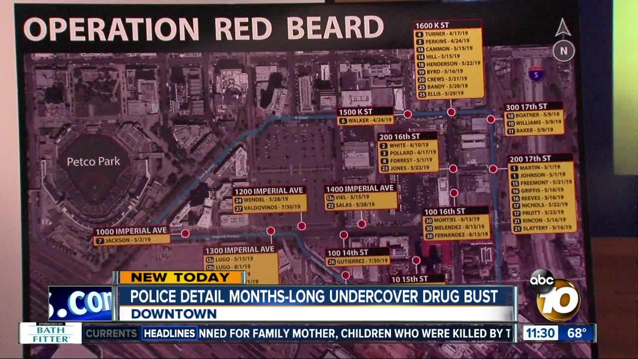 Dozens arrested after drug bust in East Village