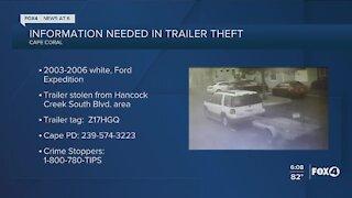 Cape Coral trailer theft