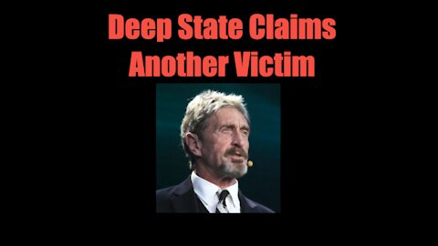 Deep State Claims Another Victim