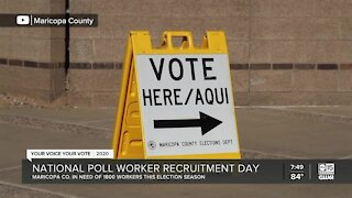 Maricopa County in need of poll workers for 2020 election