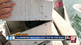 Illuminated beacons replaced after being shot out in Hernando County