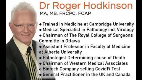 """Dr. Roger Hodgkinson, """"Anthony Fauci is a dead man walking"""""""