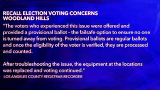 Republicans Told They Already Voted In California Recall Election