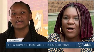 Incoming KCK seniors share hopes, advice as unusual school year approaches