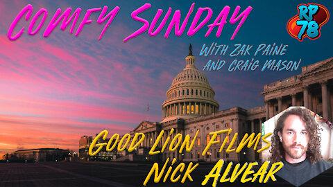Comfy Sunday with Zak Paine & Craig Mason featuring Good Lion Films' Nick Alvear