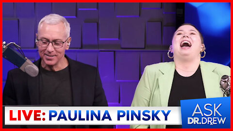 """Paulina Pinsky – Dr. Drew's Daughter & Coauthor of """"It Doesn't Have To Be Awkward"""" – on Ask Dr. Drew"""