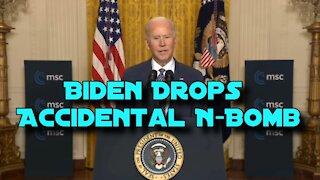 Biden Drops an N-Bomb