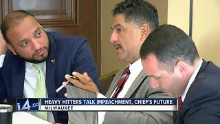 Chief Morales talks his future with the Milwaukee Police Department