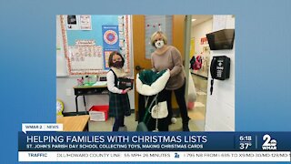 Helping families with Christmas lists