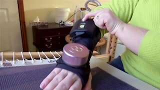Gloves that give people with tremor a helping hand