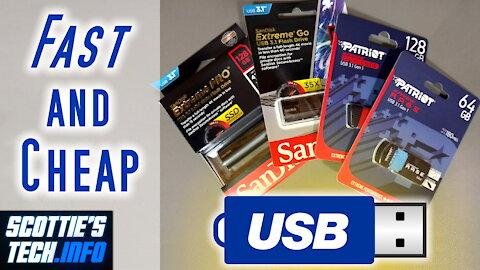 Fast USB 3 sticks that won't break the bank