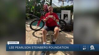 Steve's Ride: Lee Pearlson Steinberg Foundation donates $5,000