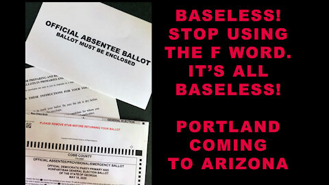 """EVERYTHING IS """"BASELESS!!""""   The Portland crowd is coming to Arizona   Pat Colebeck under fire"""