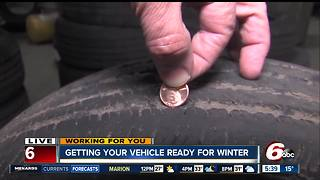Getting your vehicle ready for the winter