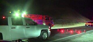 NHP: Pedestrian struck by vehicle in hit-and-run crash in east Las Vegas