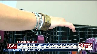 Classes start today at catoosa public schools