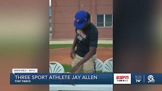 Jay Allen picks baseball over football and basketball