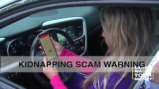 Kidnapping Scam Warning