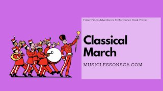Piano Adventures Performance Book Primer - Classical March