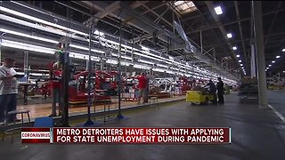 Metro Detroiters have issues with applying for state unemployment