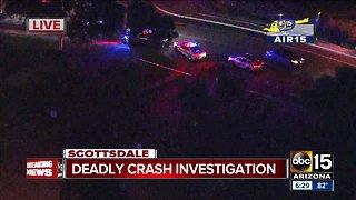 Deadly crash closes Hayden Road in Scottsdale