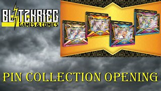 Pokemon Shining Fates Dedenne Mad Party Pin Collection Opening