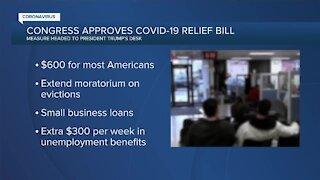 Congress approves COVID-19 relief bill