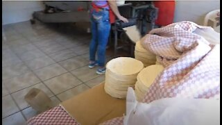 Tortilla Factory Chapala, Mexico Watch them being made!
