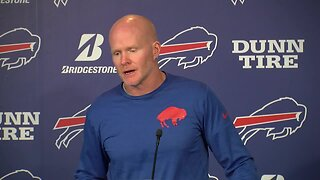 09/25 Sean McDermott meets with reporters before Patriots game