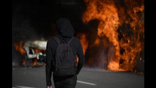 Portland Police bldg. torched: MRC