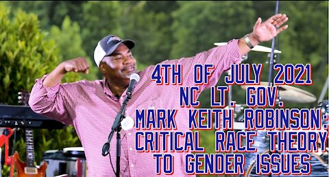 NC Lt. Gov. Mark Robinson On Independence Day With A Rousing Trump-like Speech