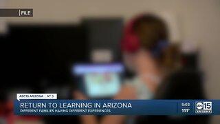Return to learning in Arizona