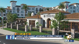 Lawsuit filed over affordable housing complex