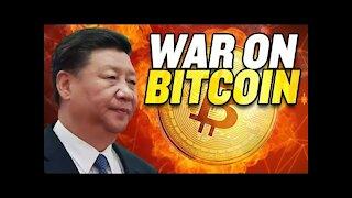 China Declares War on Bitcoin