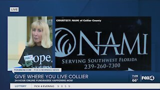 """How to give to NAMI Collier County during """"Give Where You Live Collier"""""""