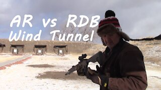 Wind Tunnel Test - AR vs RDB