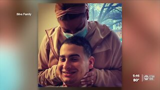 Local nurse paralyzed by COVID-19-related infection returns home