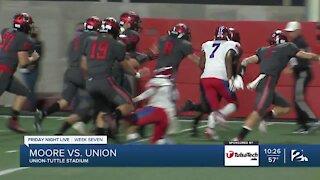 Union beats Moore