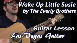 Wake Up Little Susie by The Everly Brothers Guitar Lesson