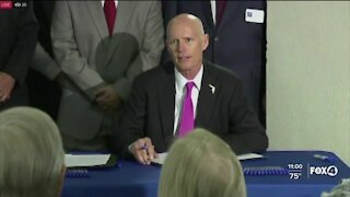Senator Rick Scott quarantines after COVID-19 exposure